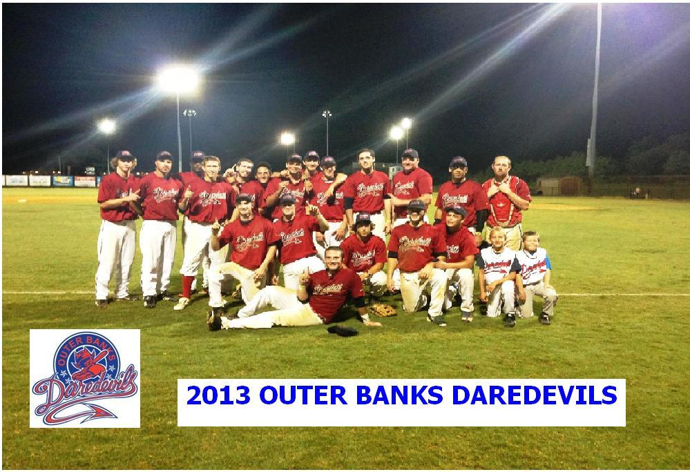 2013 Outer Banks Daredevils team pic